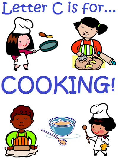 Letter C cooking