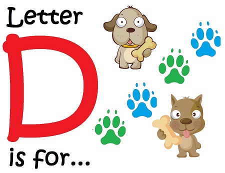 Letter D for Dogs