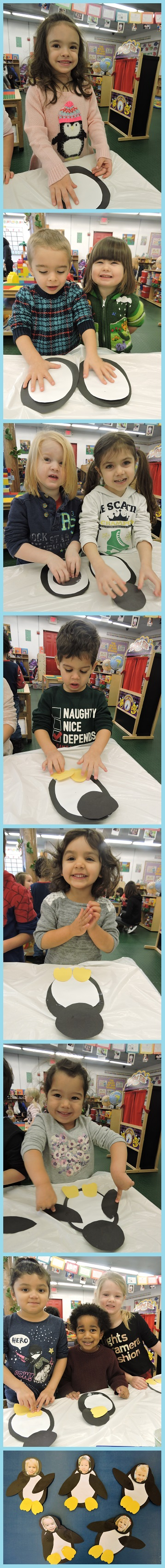 Seasons greetings from ppa school resumes tuesday 1317 for their morning work on monday the students crafted an adorable animal who loves cold weather a penguin these penguins were particularly adorable kristyandbryce Gallery